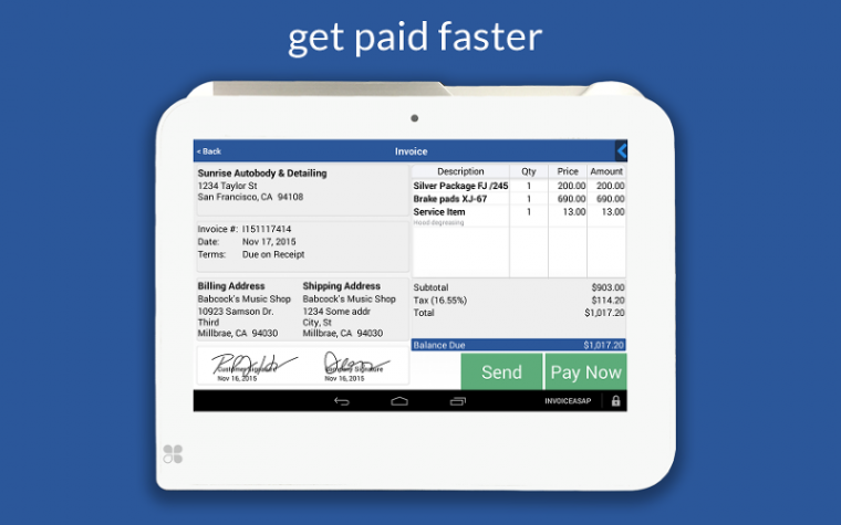 SBGA Small Business Growth Alliance Online Business Services - Electronic invoicing for small business